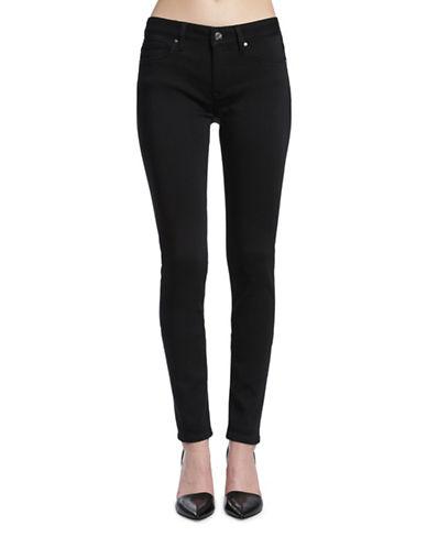 Mavi Adriana Mid Rise Super Skinny Jeans-DOUBLE BLACK TRIBECA-26
