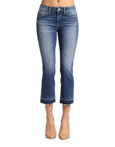 Mavi Anika Cropped Flare Jeans-MID USED VINTAGE-30