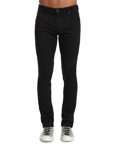 Mavi Jake Regular Slim Leg Jeans-BLACK-36X34