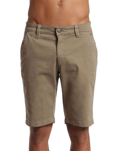 Mavi Sage Twill Jacob Shorts-GREEN-29