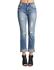womens jeans hudsons bay