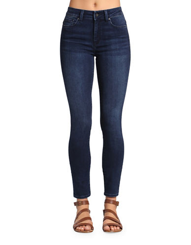 Mavi Alissa High Rise Super Skinny Jeans-DARK SATEEN SHANTI-24