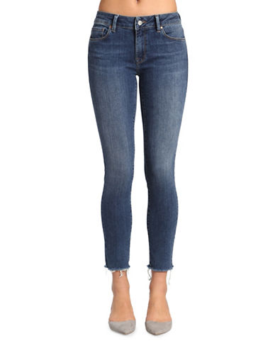 Mavi Adriana Ankle Mid Rise Super Skinny Jeans-MID INDIGO TRIBECA-29