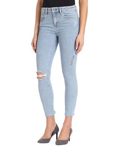 Mavi Tess High-Rise Skinny Jeans-BLUE-26