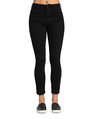 Mavi Lucy High-Rise Skinny Jeans-BLACK-28X30