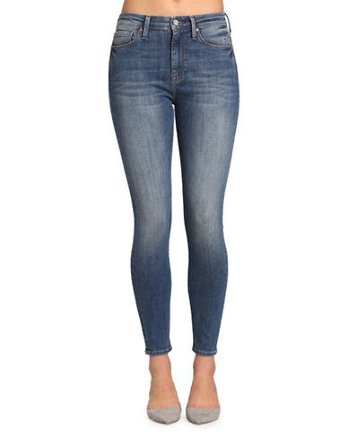 Mavi Lucy High-Rise Skinny Jeans-BLUE-32X28