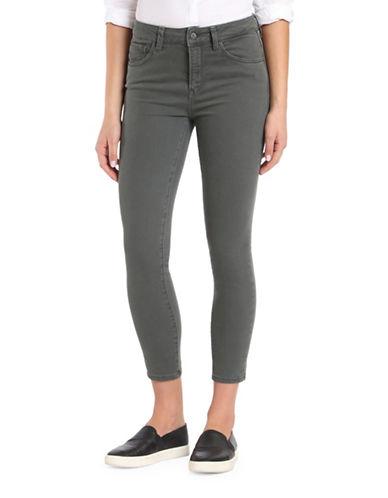 Mavi Tess High-Rise Skinny Jeans-GREEN-26X29