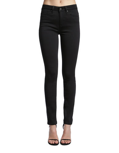 Mavi Alissa High Rise Super Skinny Jeans-BLACK-26