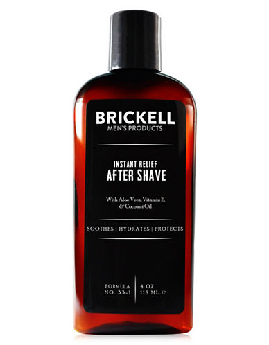 Brickell Instant Relief After Shave-NO COLOUR-118 ml