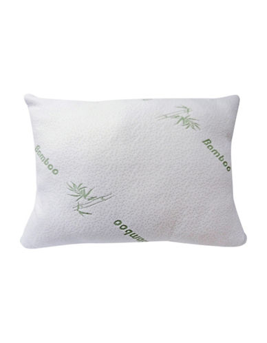 Bellisimo Bamboo Luxury Touch Pillow-WHITE-Standard