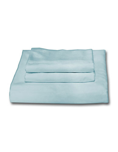 Bellisimo Easy Care 250 Thread Count Sheet Set-AQUA-Double