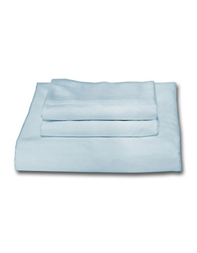 Bellisimo Easy Care 250 Thread Count Sheet Set-BLUE-Double