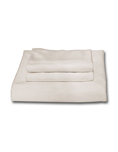 Bellisimo Easy Care 250 Thread Count Sheet Set-IVORY-Double