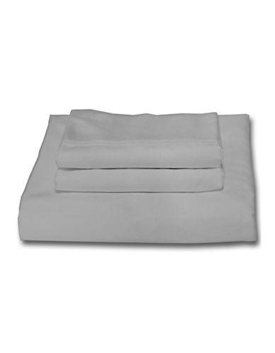 Bellisimo Easy Care 250 Thread Count Sheet Set-SILVER-Queen