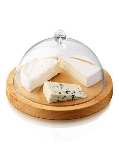 Boska Oak Wood Cheese Board with Glass Dome-OAK-One Size