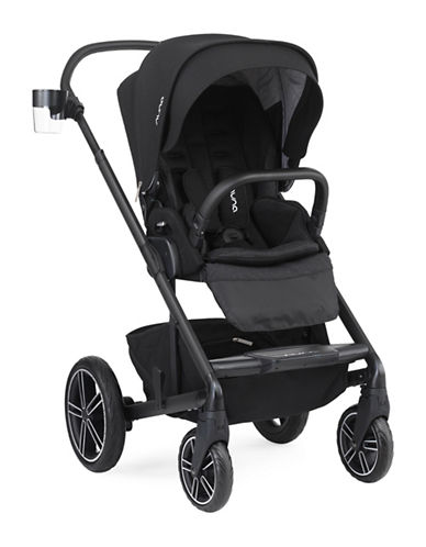 Nuna MIXX2 Stroller Caviar Collection-BLACK-One Size