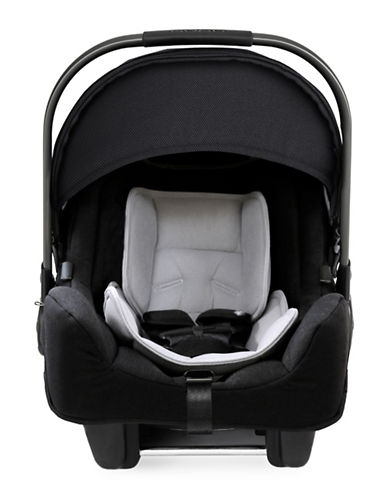 Nuna PIPA Infant Car Seat Caviar Collection-BLACK-One Size