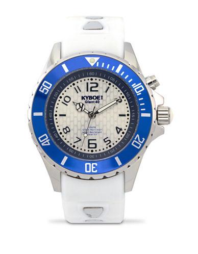 Kyboe! Power Marine Surf Analog Watch-WHITE-One Size