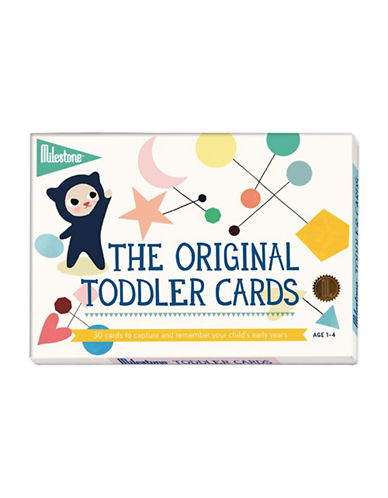 Milestone Cards 30-Piece Toddler and Junior Cards Set-MULTI-One Size