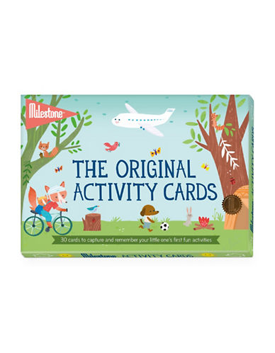 Milestone Cards 30-Piece Activity Cards Set-MULTI-One Size
