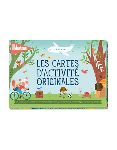Milestone Cards 30-Piece French Activity Cards Set-MULTI-One Size