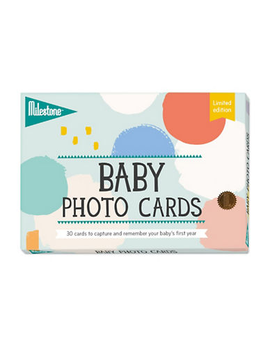 Milestone Cards Baby Photo Cards-MULTI-One Size