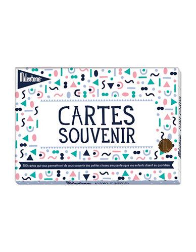Milestone Cards 100-Piece French Mini Card Set-MULTI-One Size