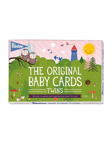 Milestone Cards 48-Piece Twins Card Set-MULTI-One Size