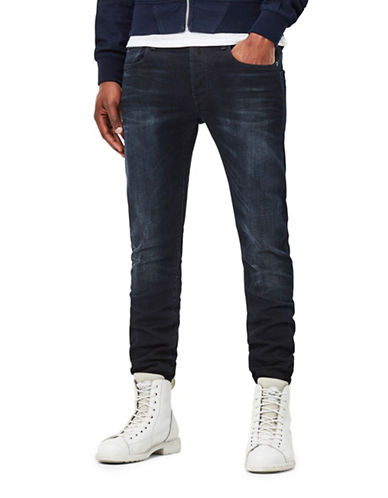 G-Star Raw 3301 Slim-Fit Siro Stretch Jeans-BLUE-33X34