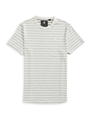 G-Star Raw Phaen Striped T-Shirt-WHITE-X-Small 88930872_WHITE_X-Small