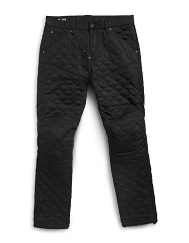 G-Star Raw Quilted Tapered Pants-BLACK-32X32