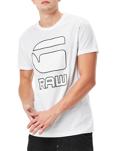 G-Star Raw Cadulor Jersey T-Shirt-WHITE-Small 89044400_WHITE_Small