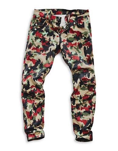 G-Star Raw Camouflage Print Jeans-TAN/GREEN-32X32