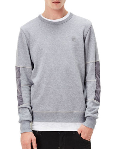 G-Star Raw Sherland Long Sleeve Sweater-GREY-Small 89123418_GREY_Small