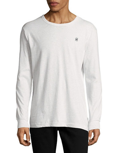 G-Star Raw Hodin R Long Sleeve T-Shirt-WHITE-Small 89044709_WHITE_Small