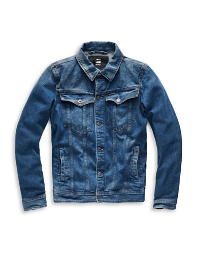 G-Star Raw Deconstructed 3D Denim Jacket-BLUE-XX-Large 89044428_BLUE_XX-Large