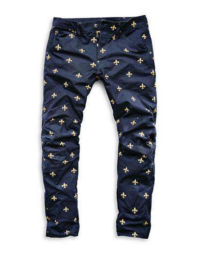 G-Star Raw Elwood X25 Scroll Print Jeans-BLUE-30X32