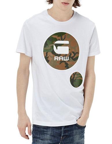 G-Star Raw Warth Graphic T-Shirt-WHITE-X-Large 88467689_WHITE_X-Large