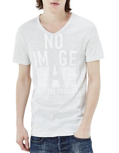 G-Star Raw V-Neck Warro T-Shirt-WHITE-X-Small 88467665_WHITE_X-Small