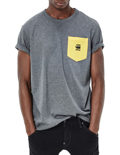 G-Star Raw Yarek Pocket T-Shirt-GREY-X-Small 88467690_GREY_X-Small