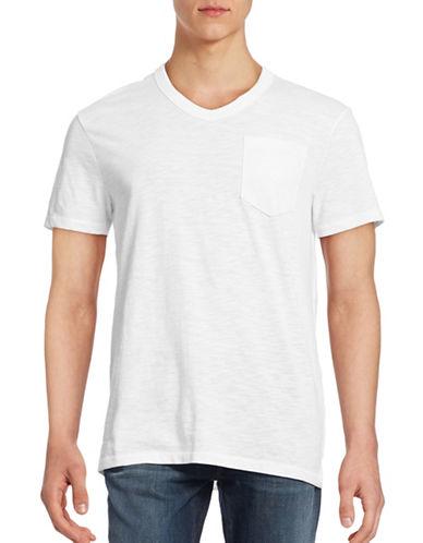 G-Star Raw Varos V-Neck Pocket T-Shirt-WHITE-X-Small 88467710_WHITE_X-Small