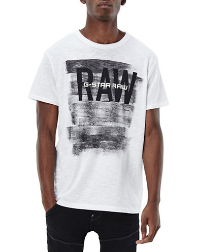 G-Star Raw Xaix Logo T-Shirt-WHITE-X-Large 88467699_WHITE_X-Large