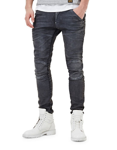 G-Star Raw 5620 3D Slim Jeans-DARK AGED-28X32
