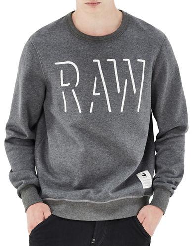 G-Star Raw Long Sleeve Sweatshirt-GREY-Large 88720841_GREY_Large