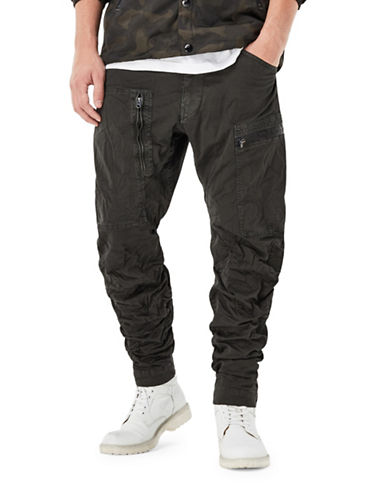 G-Star Raw Powel 3D Tapered Pants-CHARCOAL-29X32