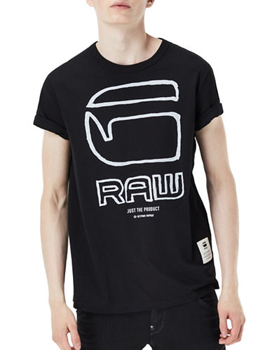 G-Star Raw Ocar Short Sleeve T-Shirt-BLACK-XX-Large 88694093_BLACK_XX-Large