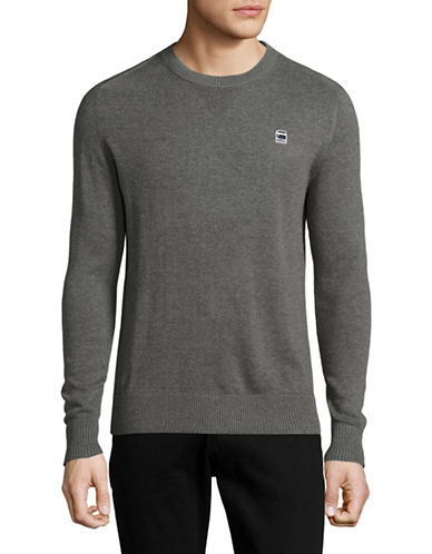 G-Star Raw Core Crew Neck Sweater-GREY-X-Large 89148339_GREY_X-Large