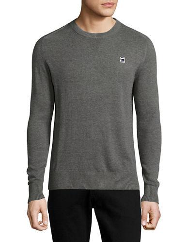 G-Star Raw Core Crew Neck Sweater-GREY-Small 89148336_GREY_Small
