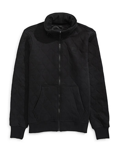 G-Star Raw Tareve Meefic Sweatshirt Jacket-BLACK-Medium 88825640_BLACK_Medium