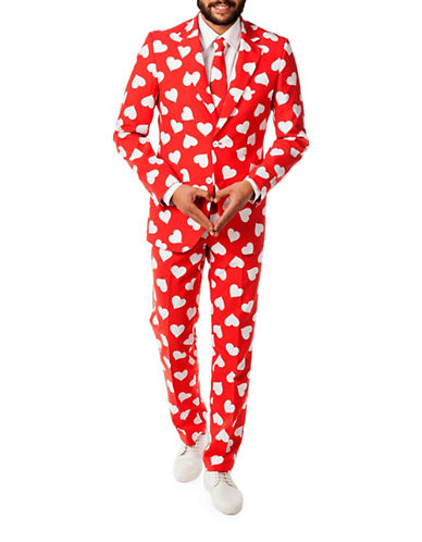 Opposuits Mr. Lover Three-Piece Suit Set-RED-50